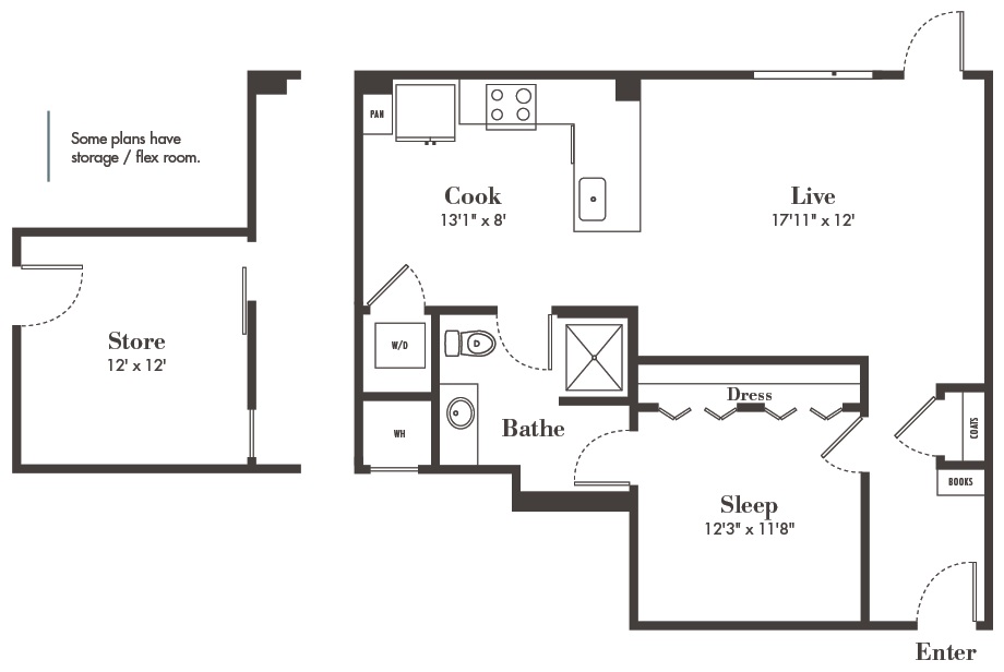 Denver one-bedroom apartments